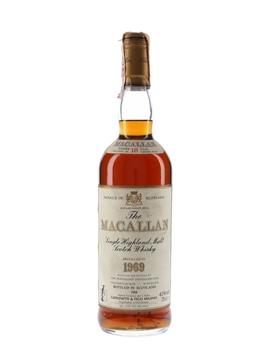 Macallan 1969 18 Year Old - Giovinetti 75cl / 43%