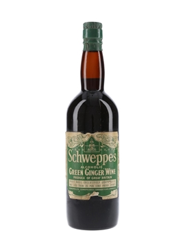 Schweppes Alcoholic Green Ginger Wine