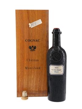 Chateau Montifaud 1928 Fine Petite Champagne Cognac