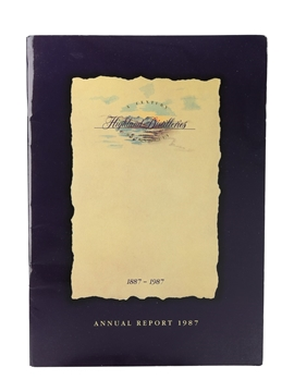 Highland Distilleries Annual Report 1987
