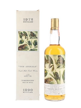 Tobermory 1972 - The Animals Bottled 1990 - Moon Import 75cl / 46%