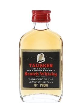 Talisker - Gordon & MacPhail Bottled 1970s - Black Label Gold Eagle 5cl / 40%