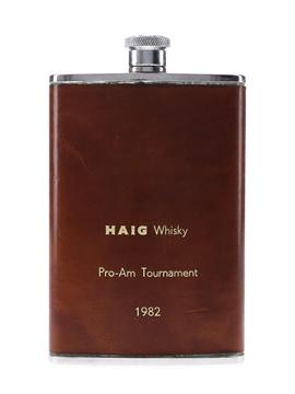 Haig Pro Am Tournament 1982 Hip Flask