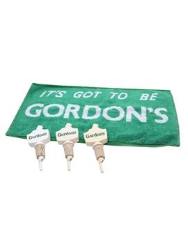 Gordon's Bar Towel & Pourers