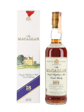 Macallan 1979 18 Year Old - Giovinetti 70cl / 43%
