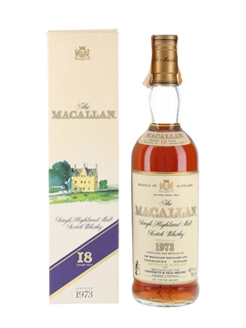 Macallan 1973 18 Year Old - Giovinetti 75cl / 43%