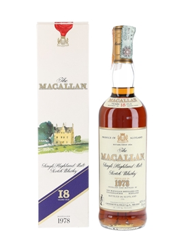 Macallan 1978 18 Year Old - Giovinetti 70cl / 43%