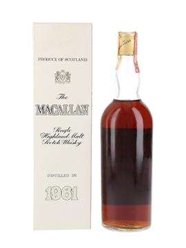 Macallan 1961 Campbell, Hope & King Bottled 1970s - Rinaldi 75cl / 46%