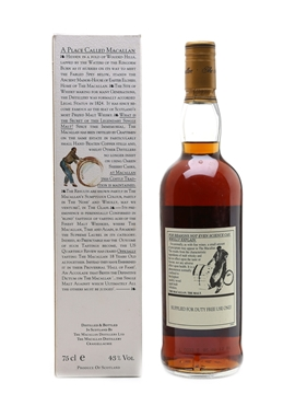 Macallan 1978 18 Year Old - Duty Free 75cl / 43%