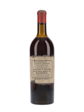 Justerini & Brooks 60 Year Old Liqueur Brandy Bottled 1930s 75cl