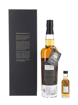 Bowmore 1968 Peerless 40 Year Old - Duncan Taylor 70cl & 5cl / 42.3% ABV