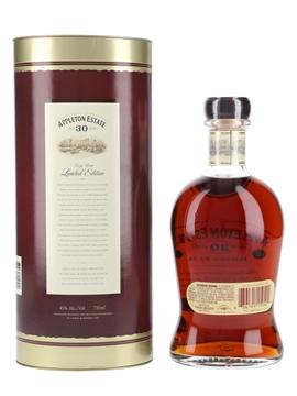 Appleton Estate 30 Year Old Jamaica Rum Bottled 2009 75cl / 45%