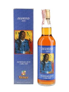 Diamond 1975 Demerara Rum Bottled 1996 - Velier 70cl / 46%