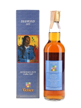 Diamond 1975 Demerara Rum Bottled 1996 - Velier 70cl / 46%