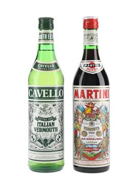 Cavello Extra Dry & Martini Rosso