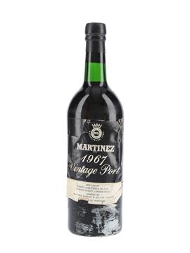 Martinez 1967 Vintage Port