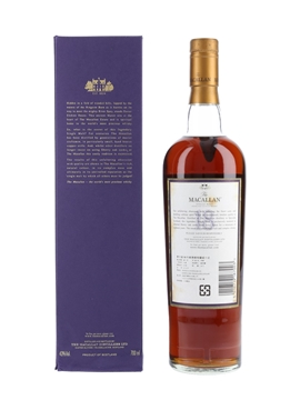 Macallan 18 Year Old 1986 And Earlier 70cl / 43%