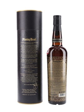 Flaming Heart Compass Box - 15th Anniversary 70cl / 48.9%