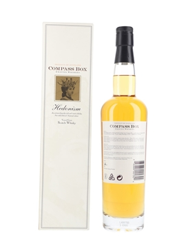 Hedonism Bottled 2000s - Compass Box 70cl / 43%