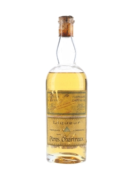 Chartreuse Yellow Bottled 1940s-1950s - Tarragona 35cl