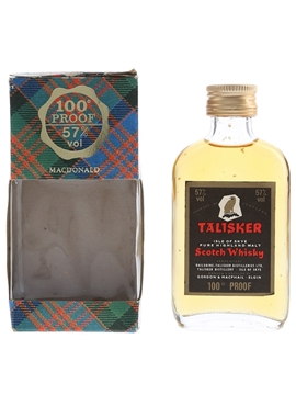 Talisker 100 Proof - Black Label Gold Eagle