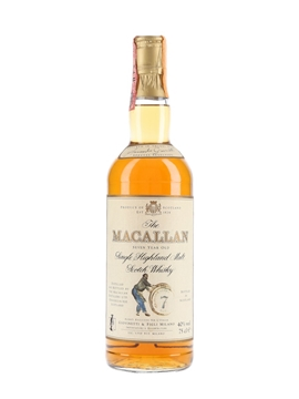 Macallan 7 Year Old Bottled 1980s - Giovinetti 75cl / 40%