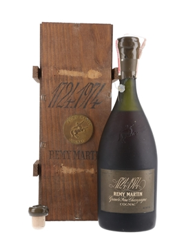 Remy Martin 250th Anniversary Cognac Bottled 1974 - Renfield Importers Union 75.7cl / 40%