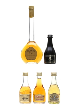 Assorted Brandy & Cognac