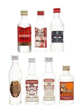 Assorted Vodka & Tequila