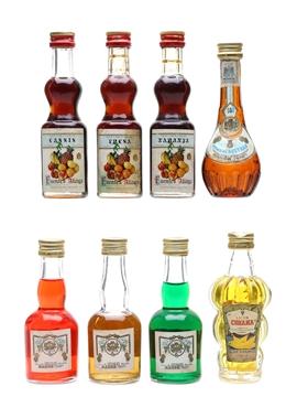 Assorted Spanish Liqueurs