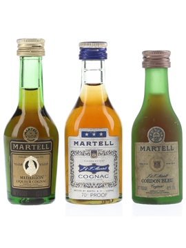 Martell Cordon Bleu, Medaillon & 3 Star
