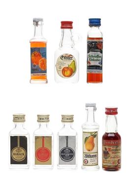 Assorted German Eau De Vie & Liqueurs