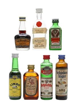 Assorted German Liqueurs & Spirits