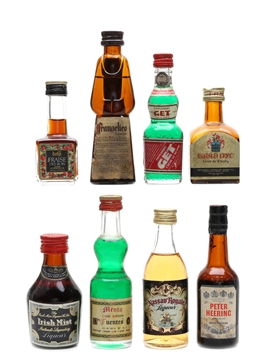 Assorted Liqueurs Of The World