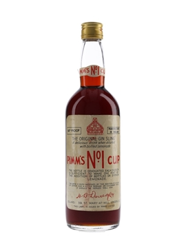 Pimm's No.1 Cup Bottled 1960s 75cl / 34%