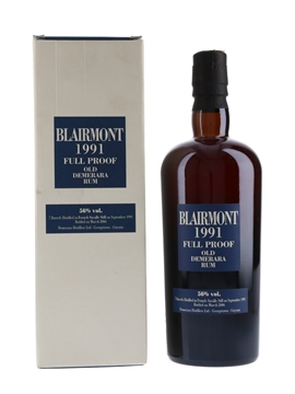 Blairmont 1991 Full Proof Demerara Rum