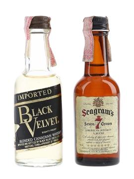 Black Velvet & Seagram's