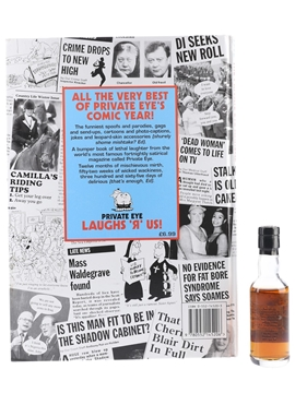 Macallan Private Eye Includes The Private Eye Annual 1996 5cl / 40%