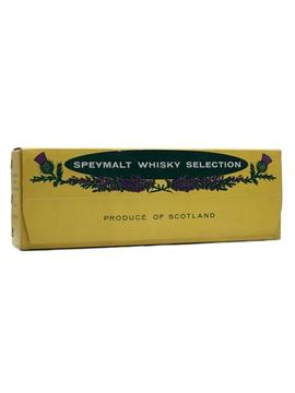 Speymalt Whisky Selection Bottled 1970s - Gordon & MacPhail 12 x 4cl-5cl / 40%