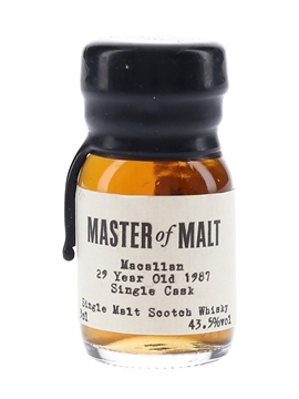Macallan 1987 29 Year Old - Master Of Malt 3cl / 43.5%