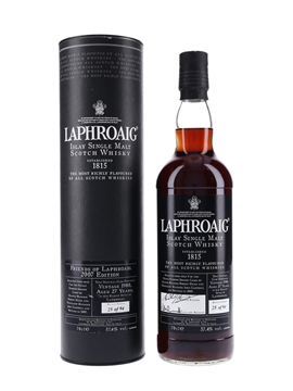 Laphroaig 1980 Sherry Cask 27 Year Old - Friends Of Laphroaig 2007 Edition 70cl / 57.4%