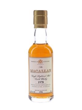 Macallan 1978 Bottled 1996 5cl / 43%