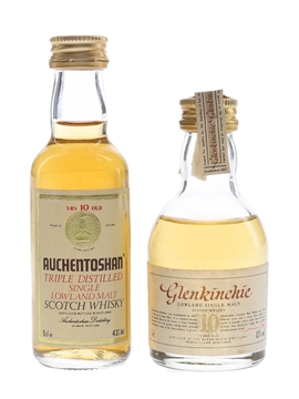 Auchentoshan 10 Year Old & Glenkinchie 10 Year Old