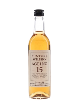Suntory 15 Year Old