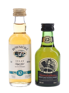 Bowmore 12 Year Old & Bunnahabhain 12 Year Old