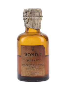 Gilbey's Bond 7 5 Year Old