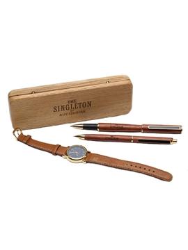 Singleton of Auchroisk Pen & Pencil Set with Watch