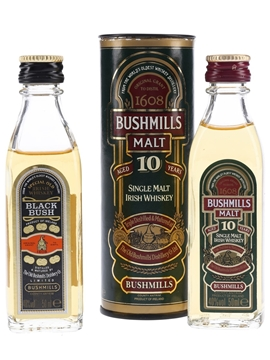 Bushmills Black Bush & 10 Year Old