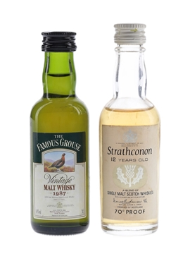 Famous Grouse & Strathconon 12 Year Old