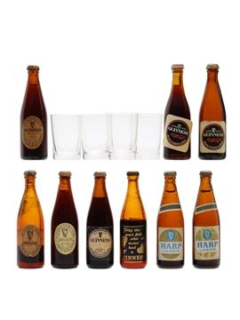 Guinness, Harp Lager & Glasses